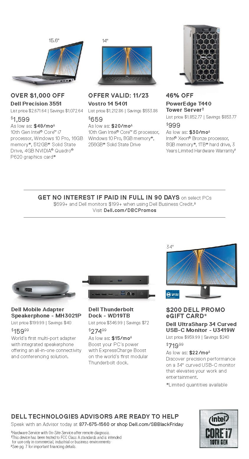 Dell Small Business Black Friday 2020 Page 5