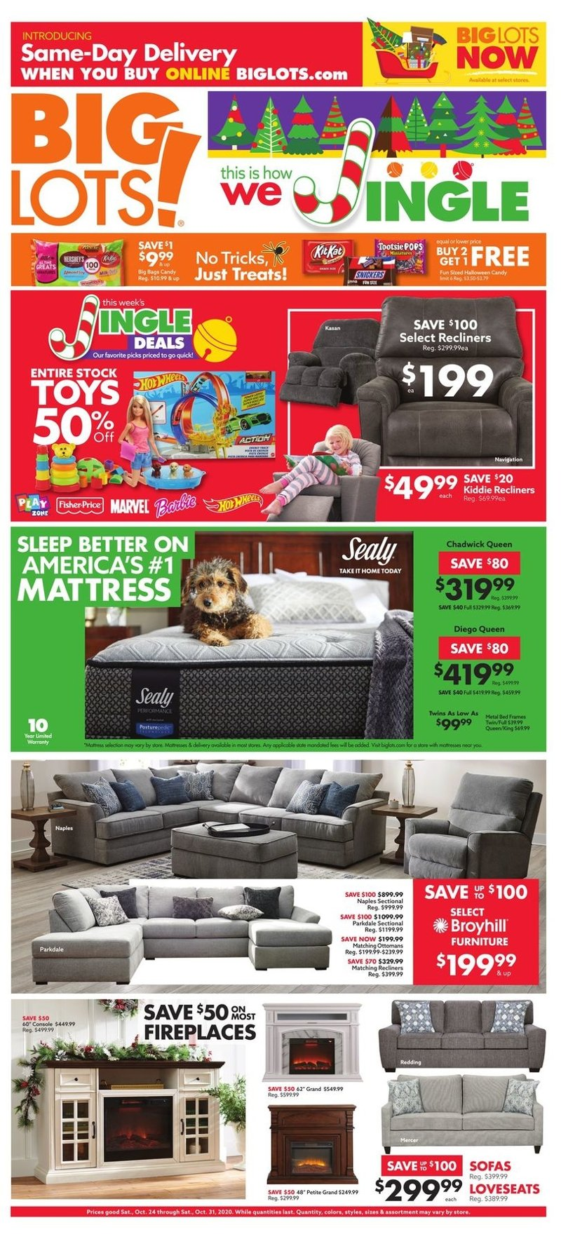 Big Lots Weekly October 24 - 31, 2020 Page 1