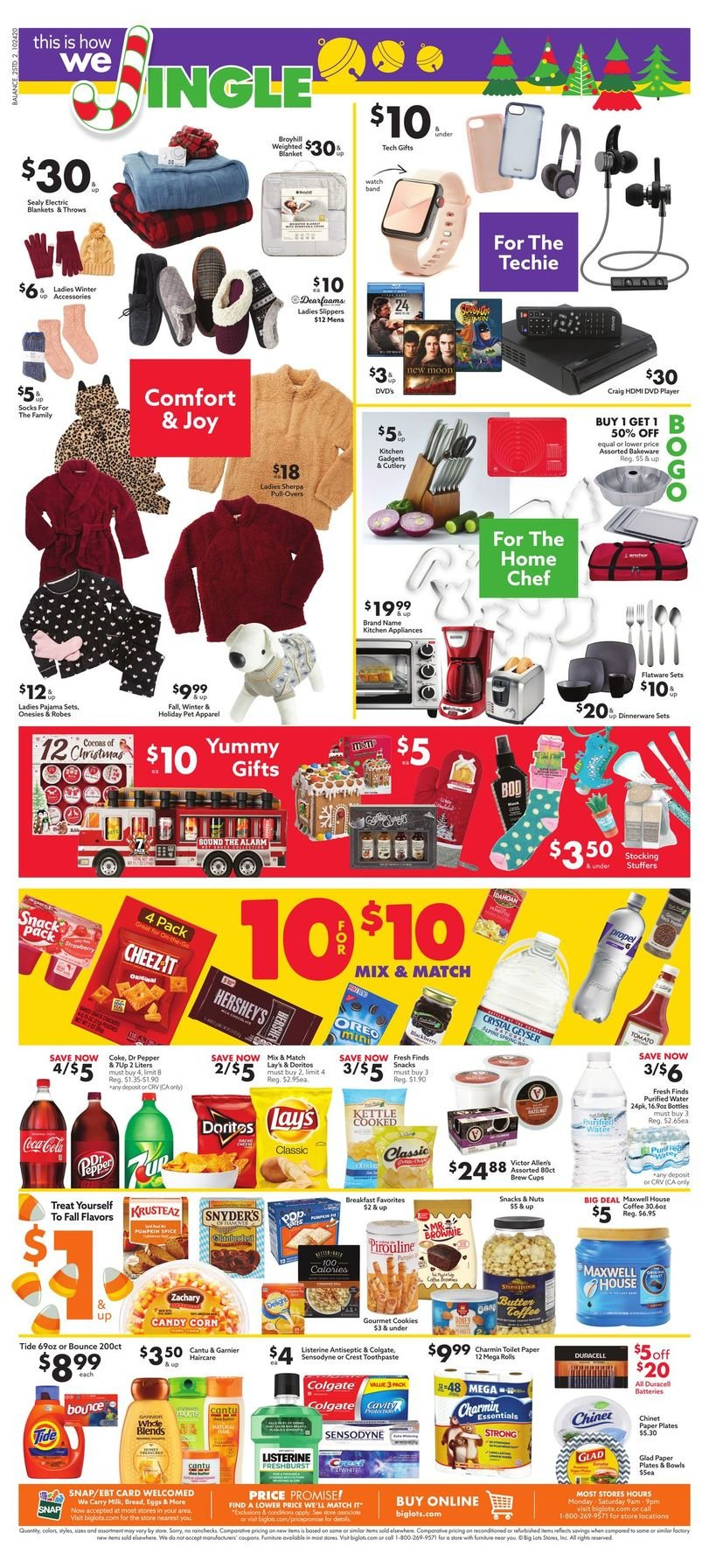 Big Lots Weekly October 24 - 31, 2020 Page 2