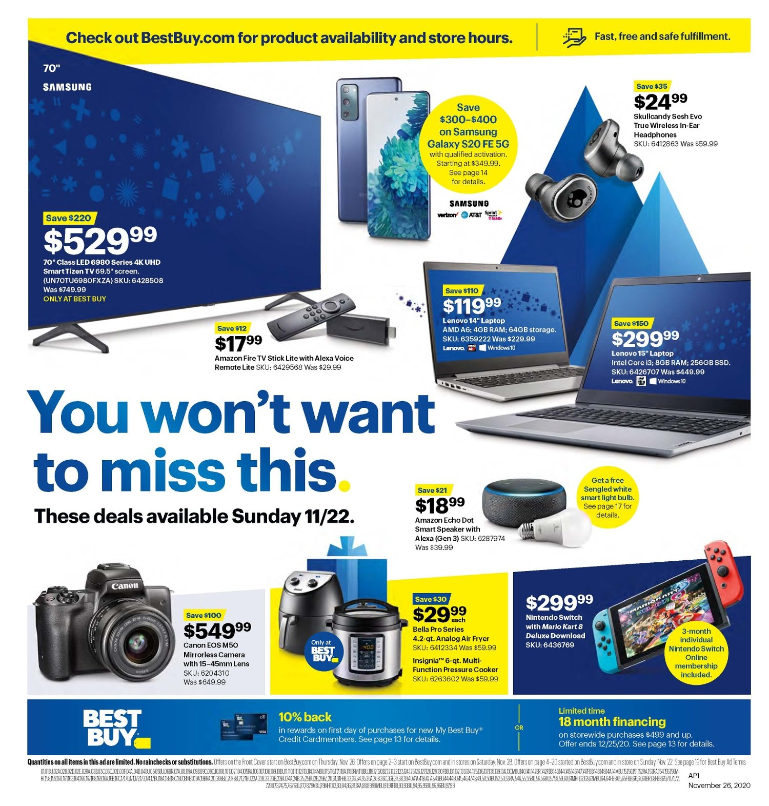 Best Buy Black Friday 2020 Page 22