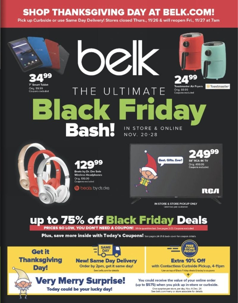 Belk Black Friday 2020 Page 1