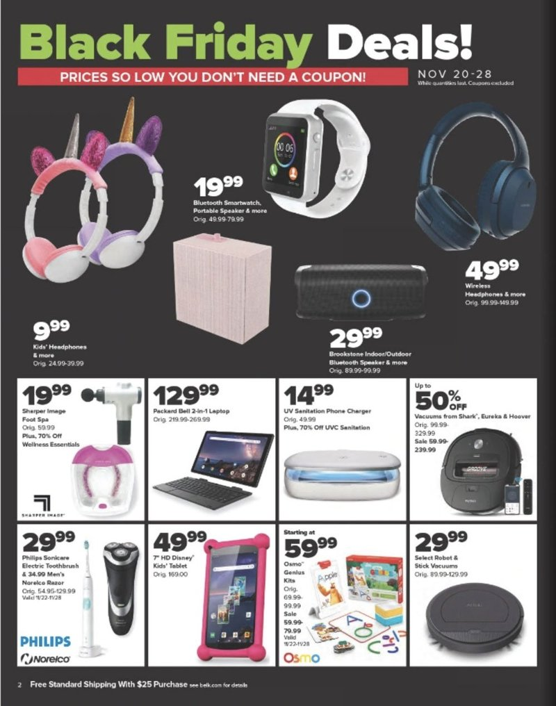 Belk Black Friday 2020 Page 2