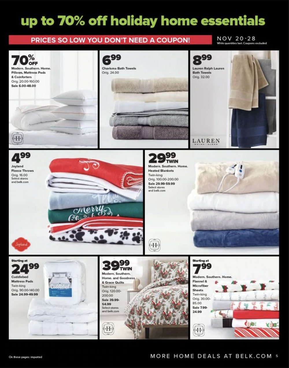 Belk Black Friday 2020 Page 5