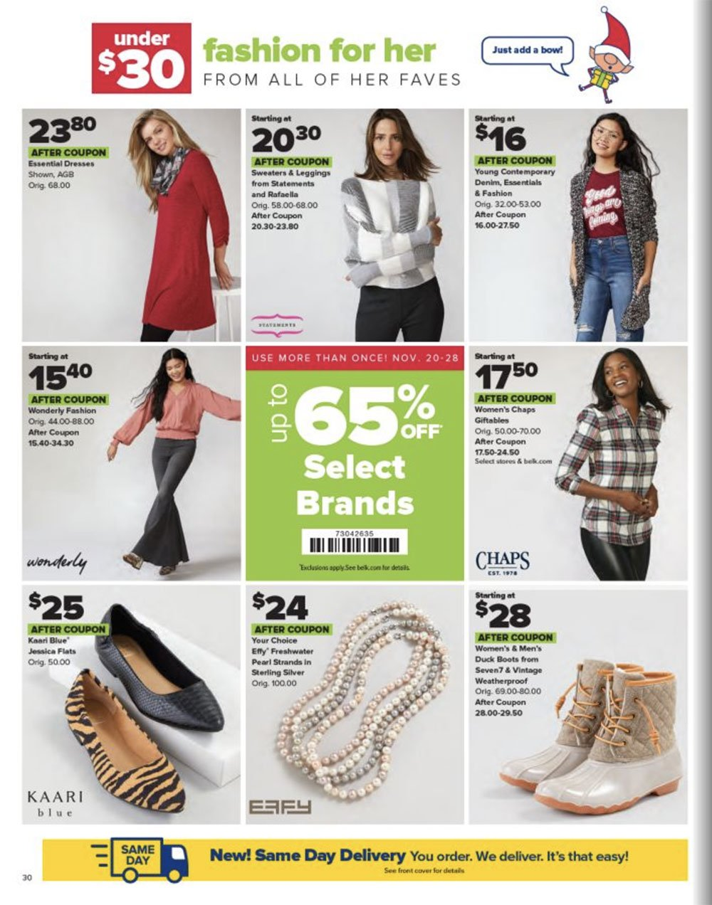 Belk Black Friday 2020 Page 30
