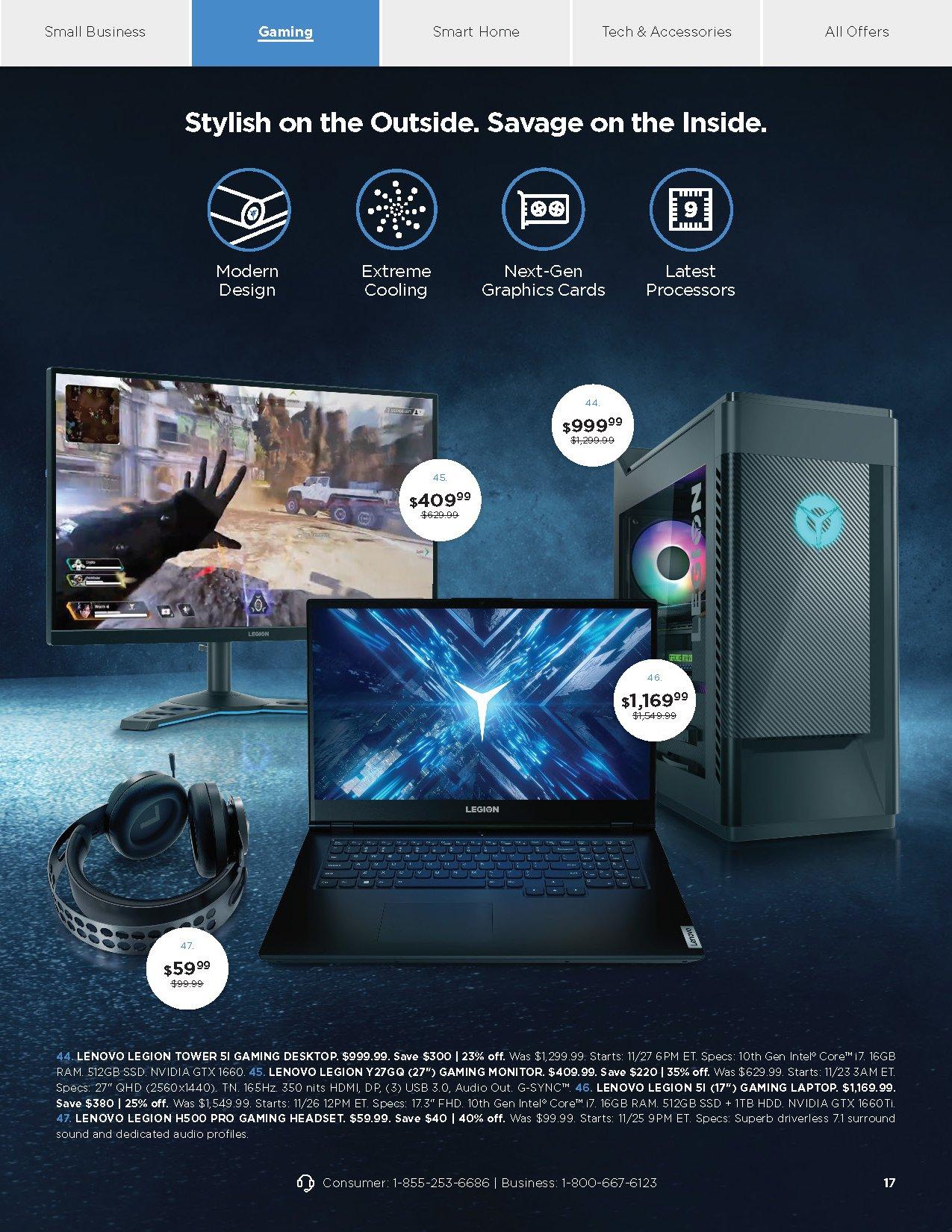 Lenovo Black Friday 2020 Page 14