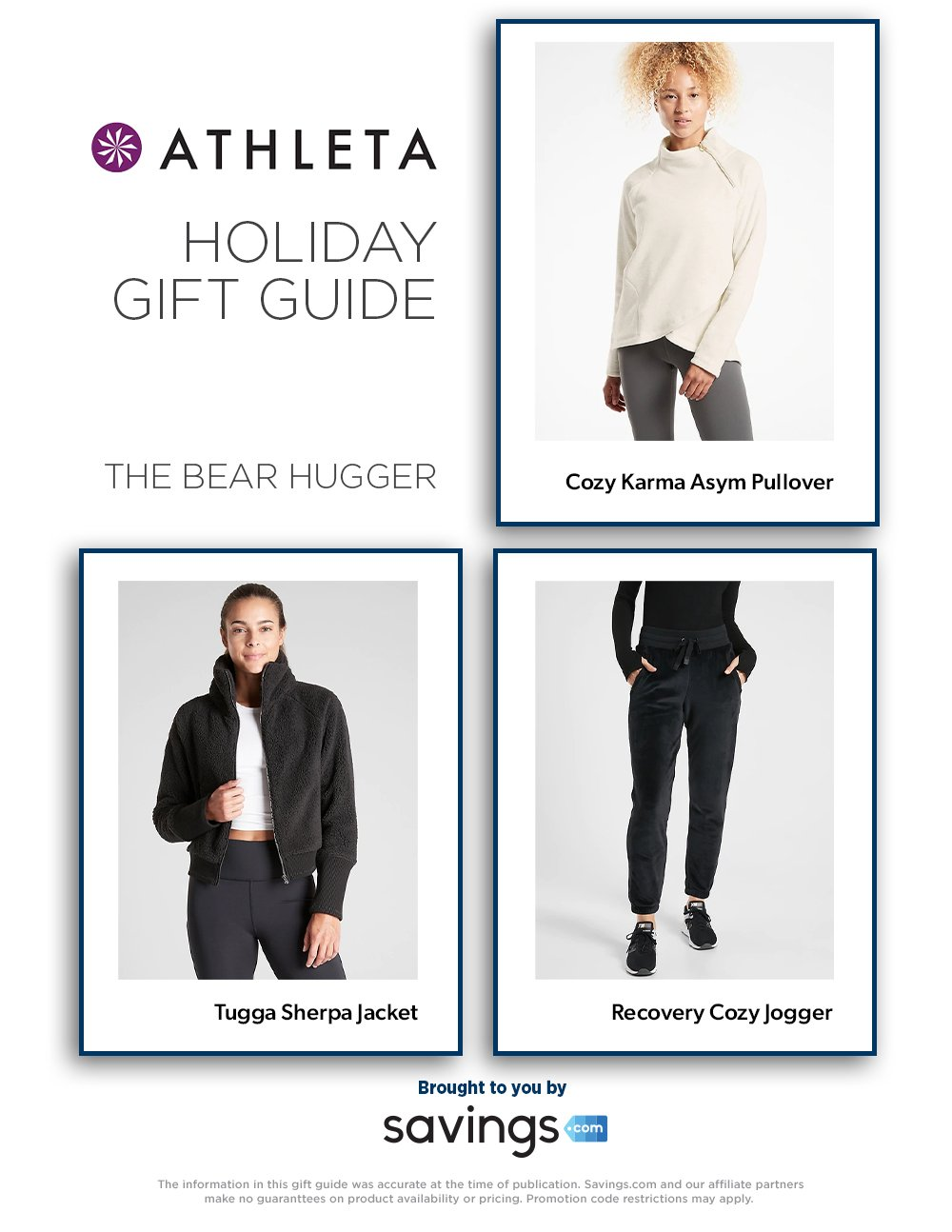 Athleta Holiday Gift Guide 2020 Page 3