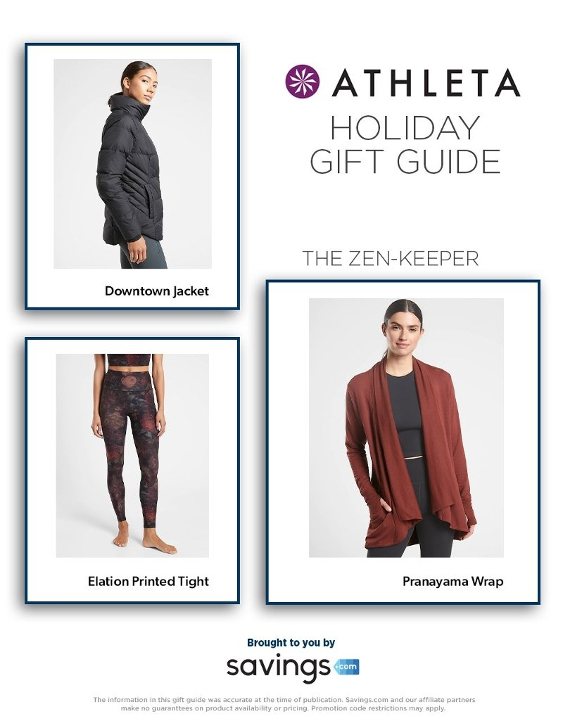 Athleta Holiday Gift Guide 2020 Page 1