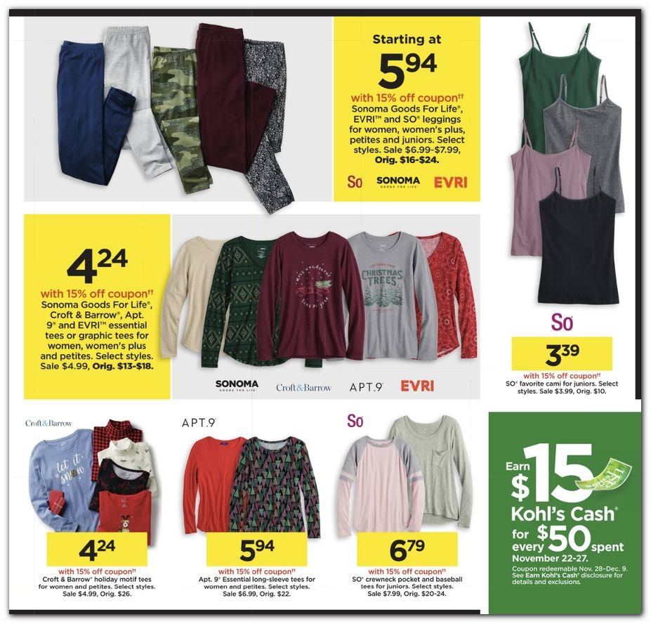 Kohl's Black Friday 2020 Page 27