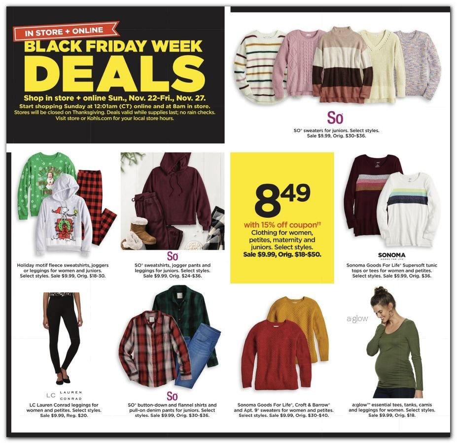 Kohl's Black Friday 2020 Page 28