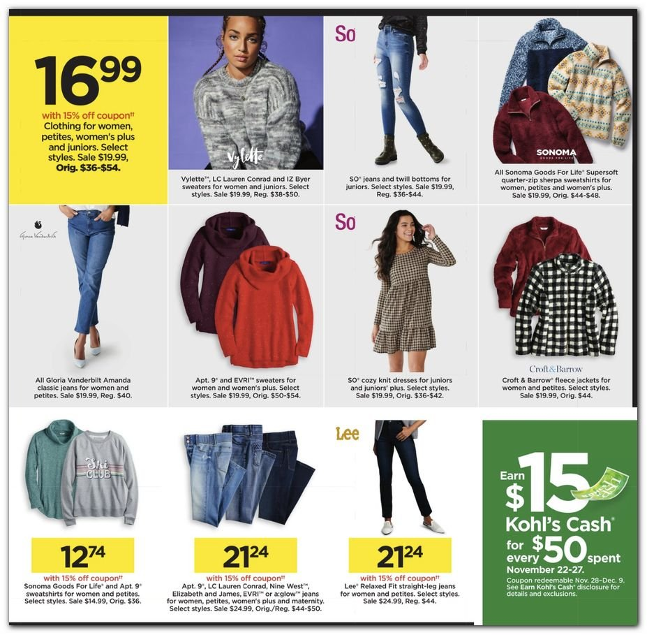 Kohl's Black Friday 2020 Page 29