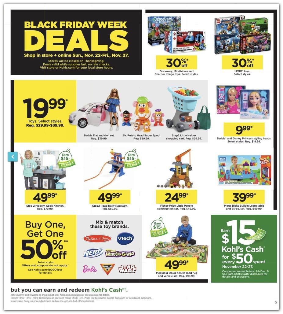Kohl's Black Friday Super Deals 2020 Page 5