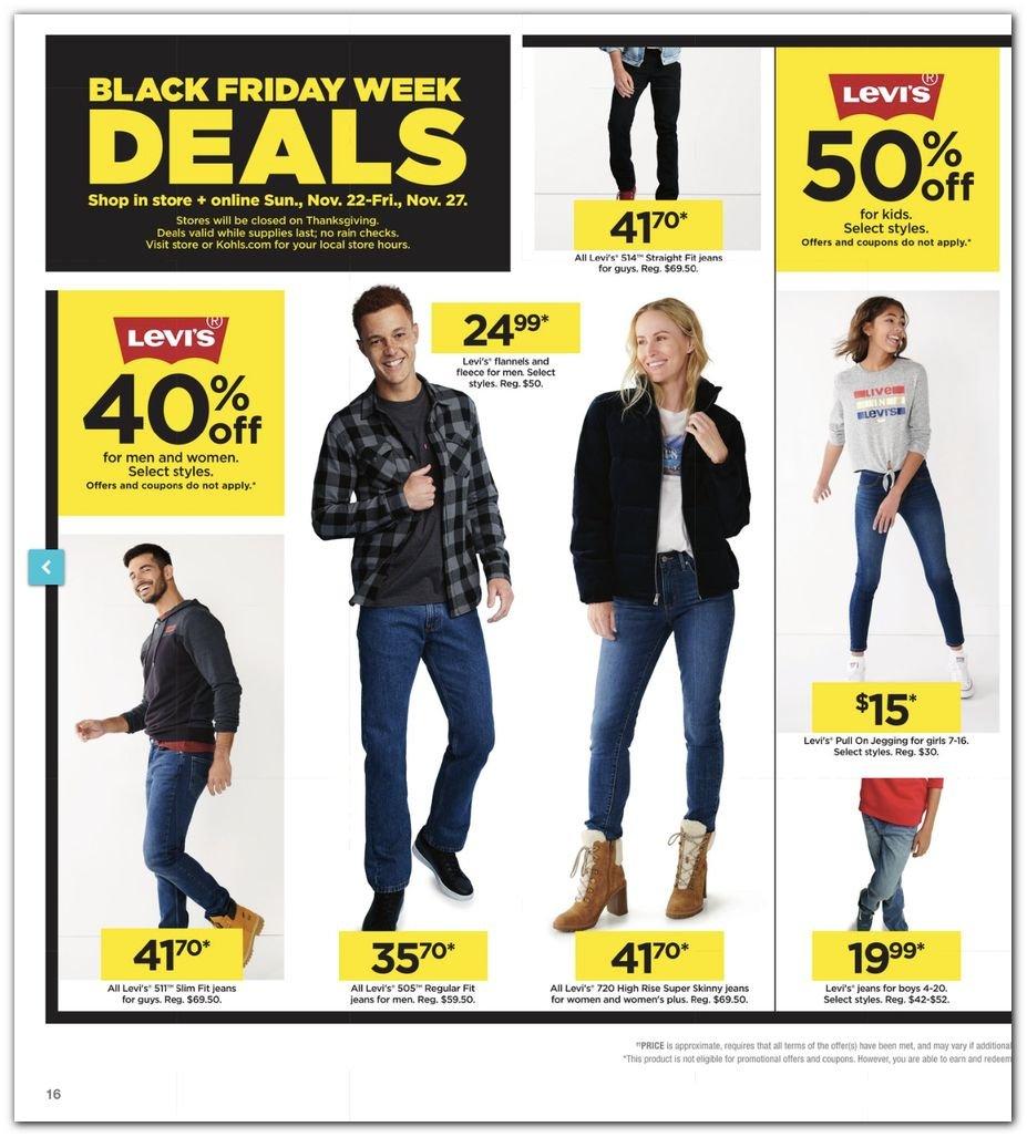 Kohl's Black Friday Super Deals 2020 Page 16