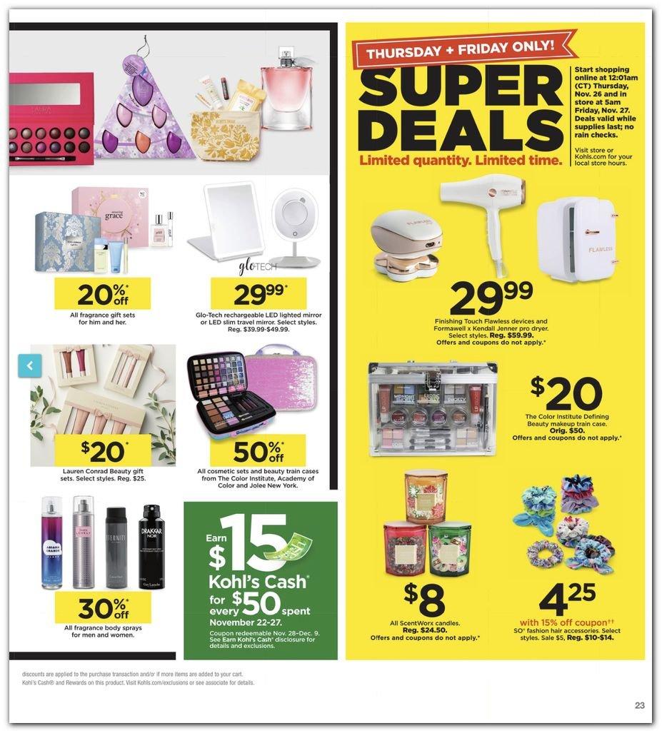 Kohl's Black Friday Super Deals 2020 Page 23