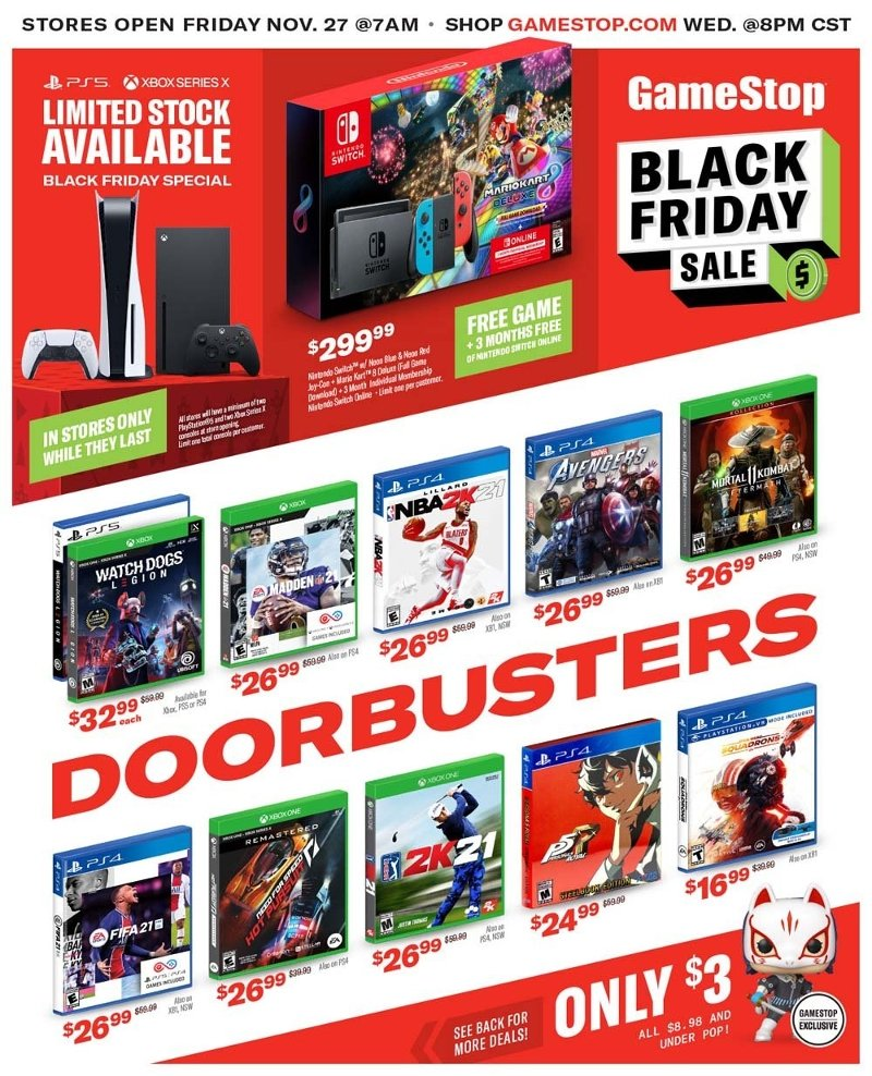 GameStop Black Friday 2020 Page 1