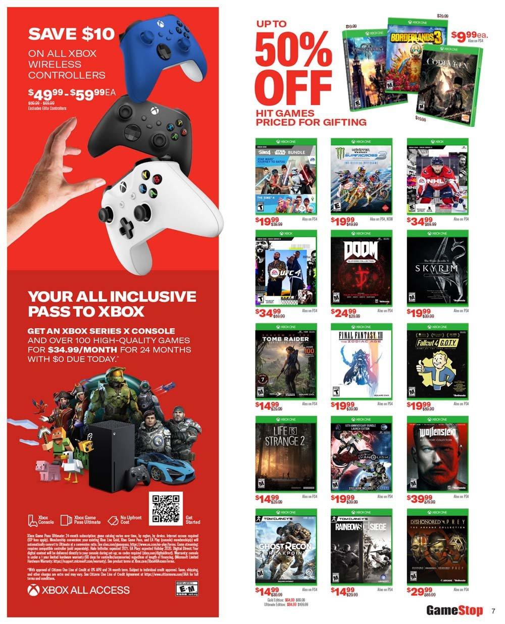 GameStop Black Friday 2020 Page 7