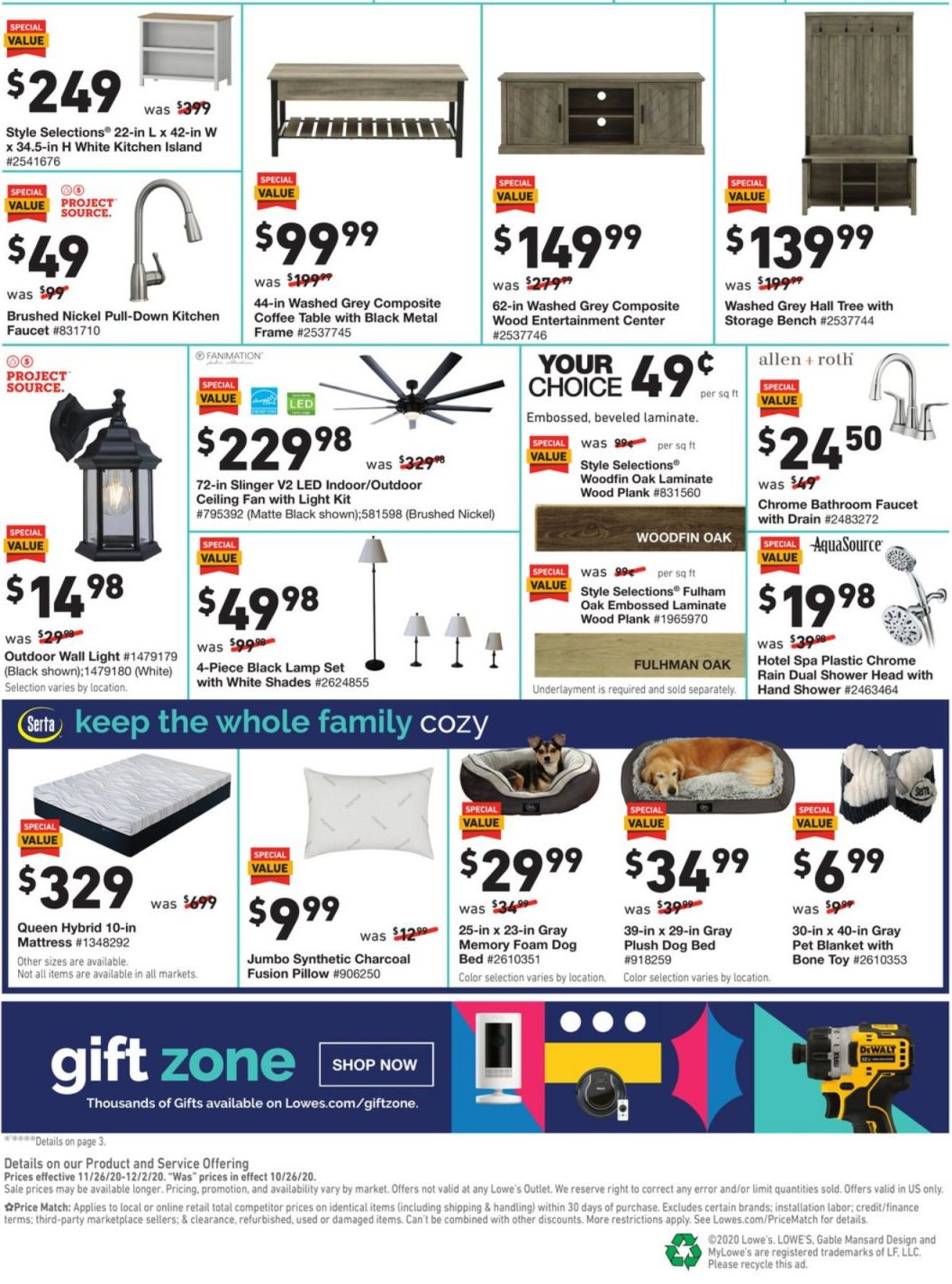 Lowe's Cyber Monday 2020 Page 4