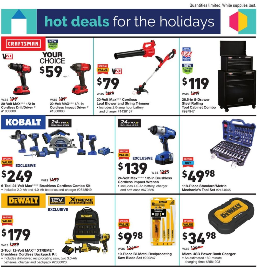 Lowe's Cyber Monday 2020 Page 5
