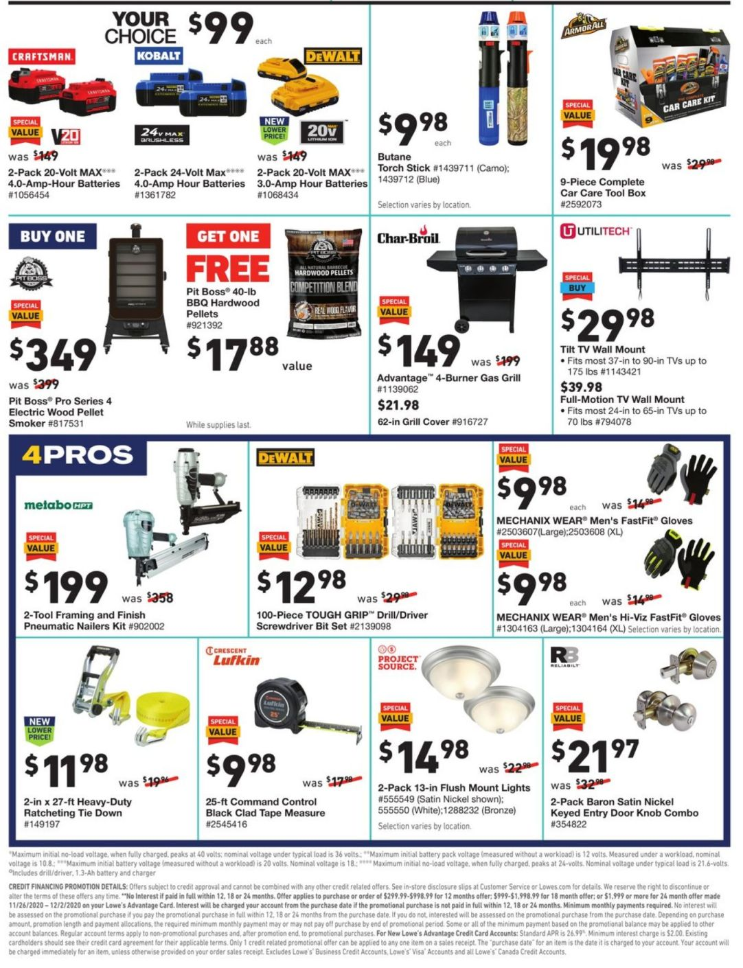 Lowe's Cyber Monday 2020 Page 6