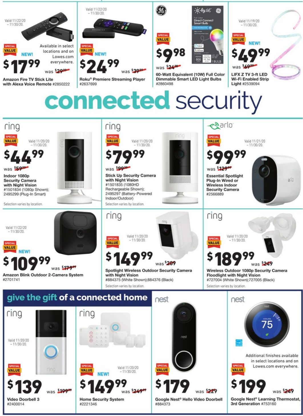 Lowe's Cyber Monday 2020 Page 12