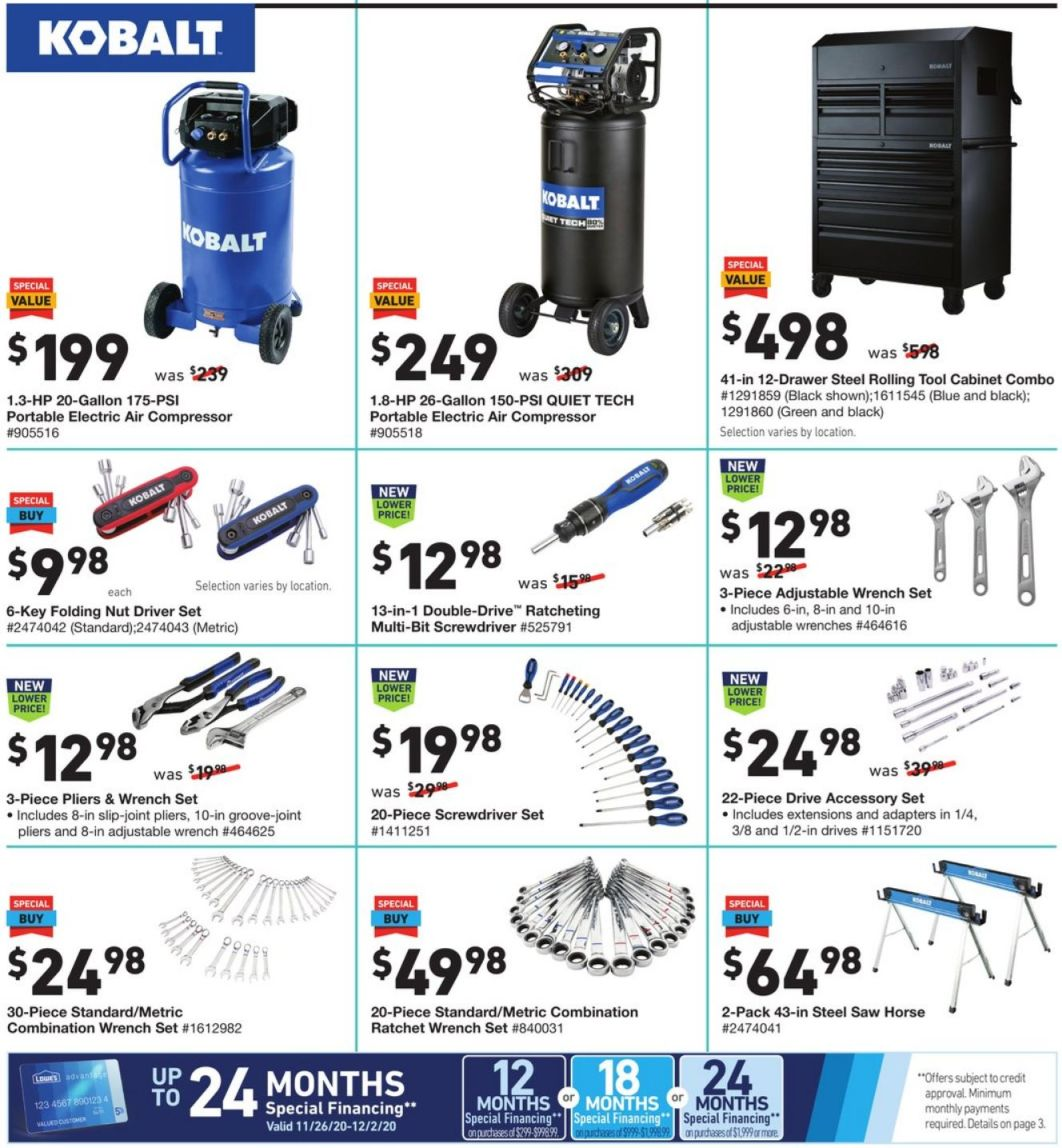 Lowe's Cyber Monday 2020 Page 14