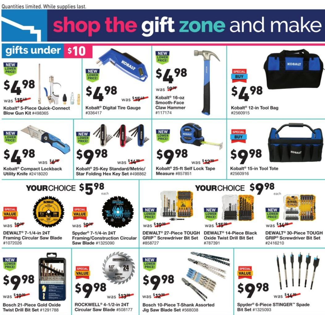 Lowe's Cyber Monday 2020 Page 15