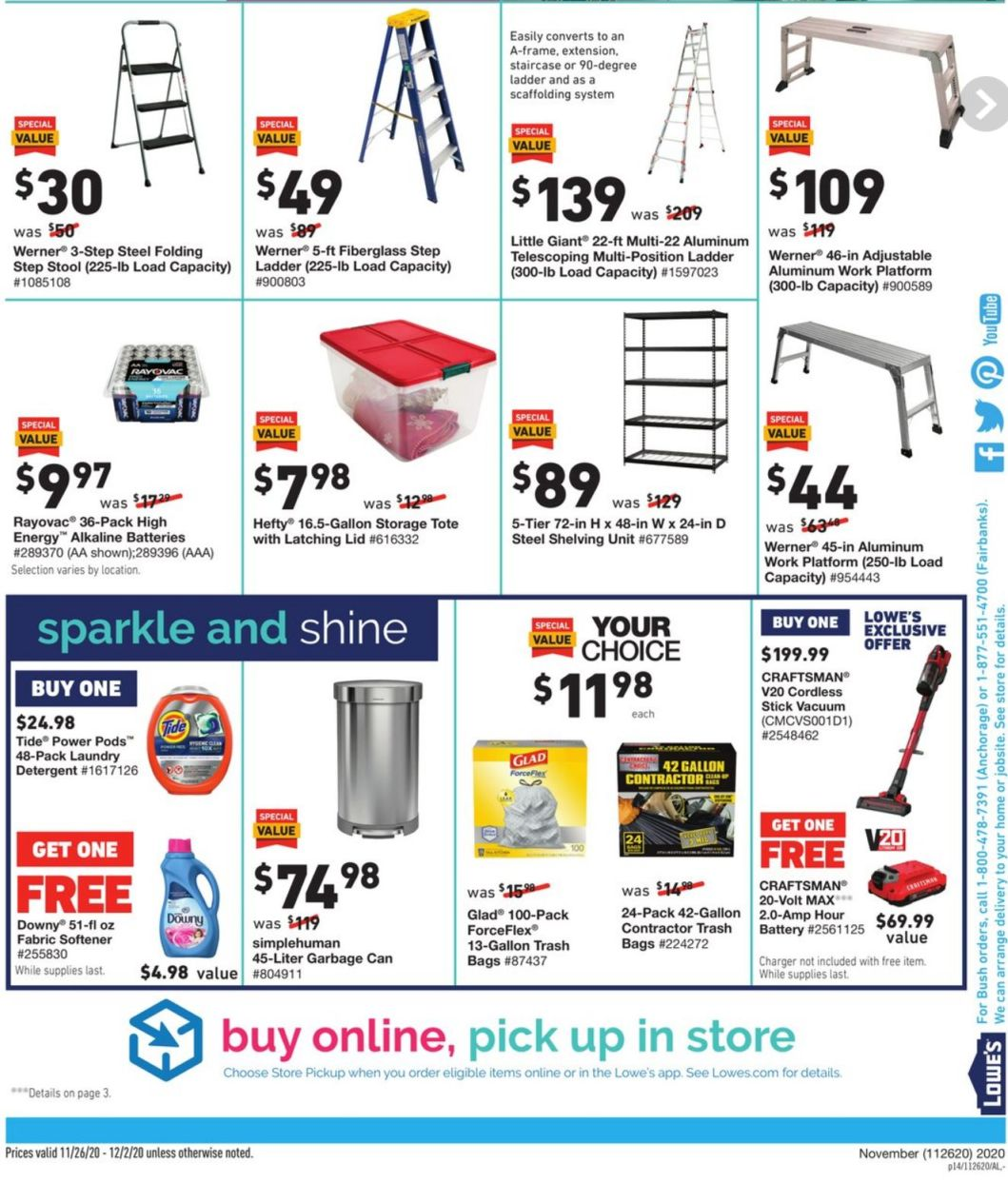 Lowe's Cyber Monday 2020 Page 28
