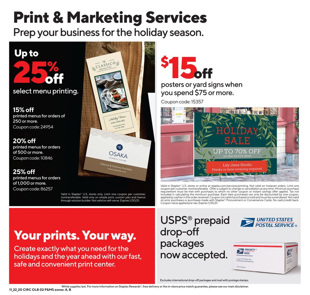 Staples Black Friday 2020 Page 11