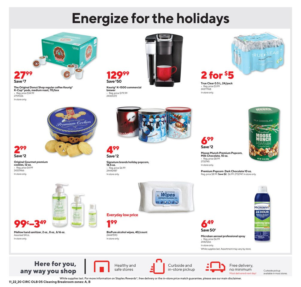 Staples Black Friday 2020 Page 14
