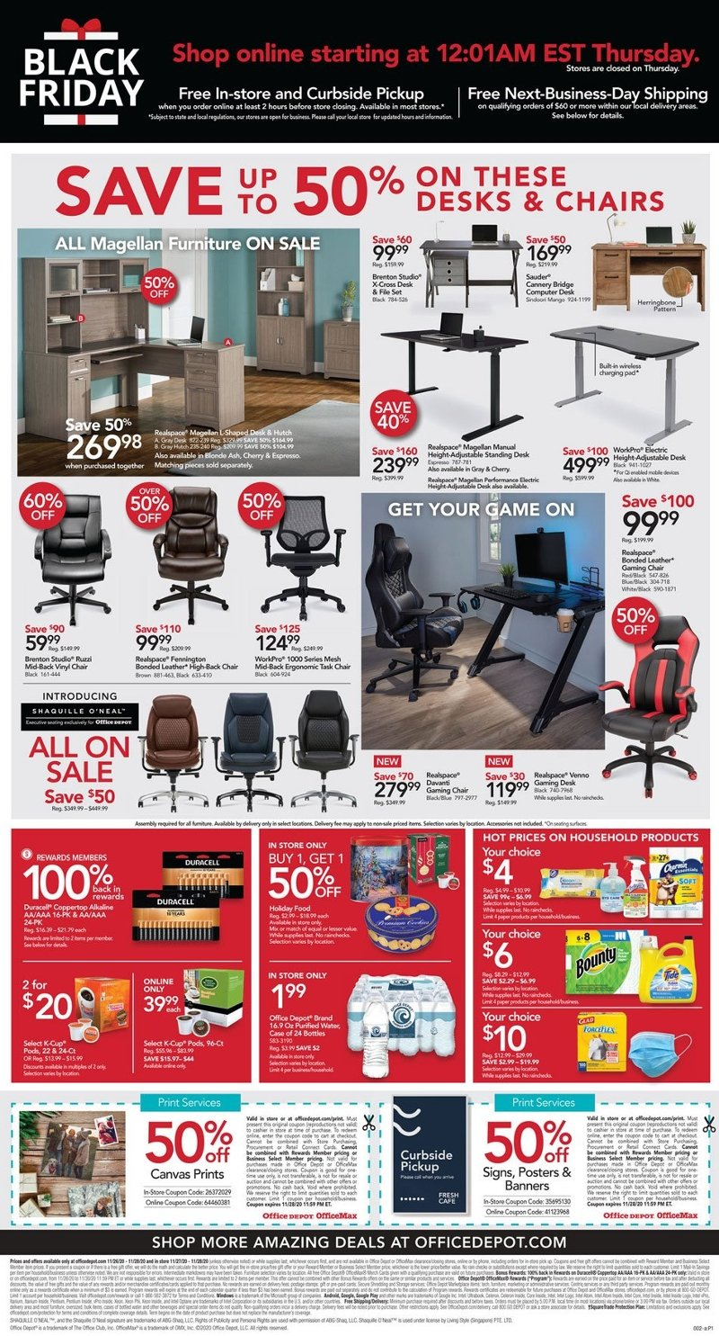 Office Depot & OfficeMax Black Friday 2020 Page 2