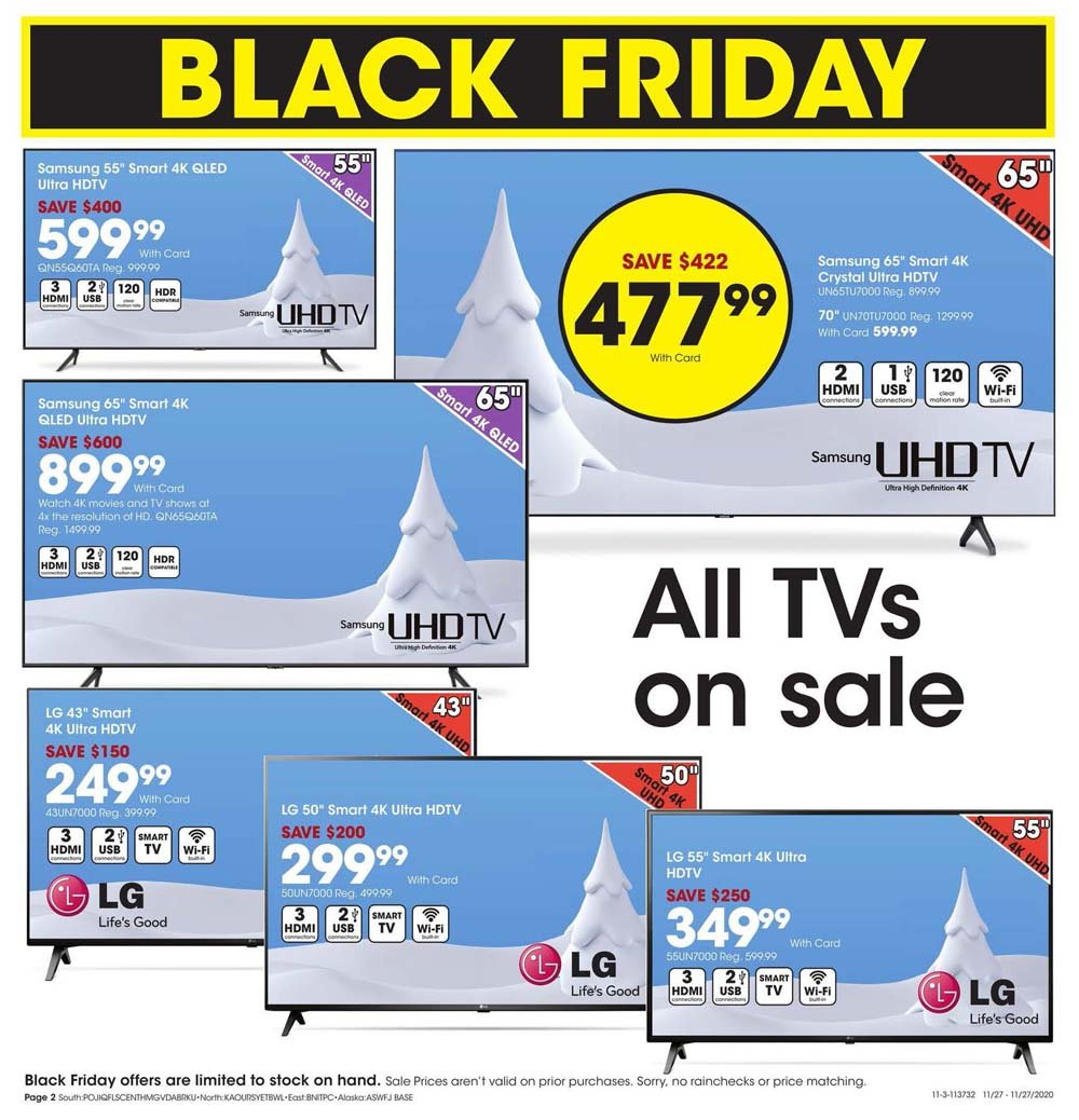 Fred Meyer Black Friday 2020 Page 2