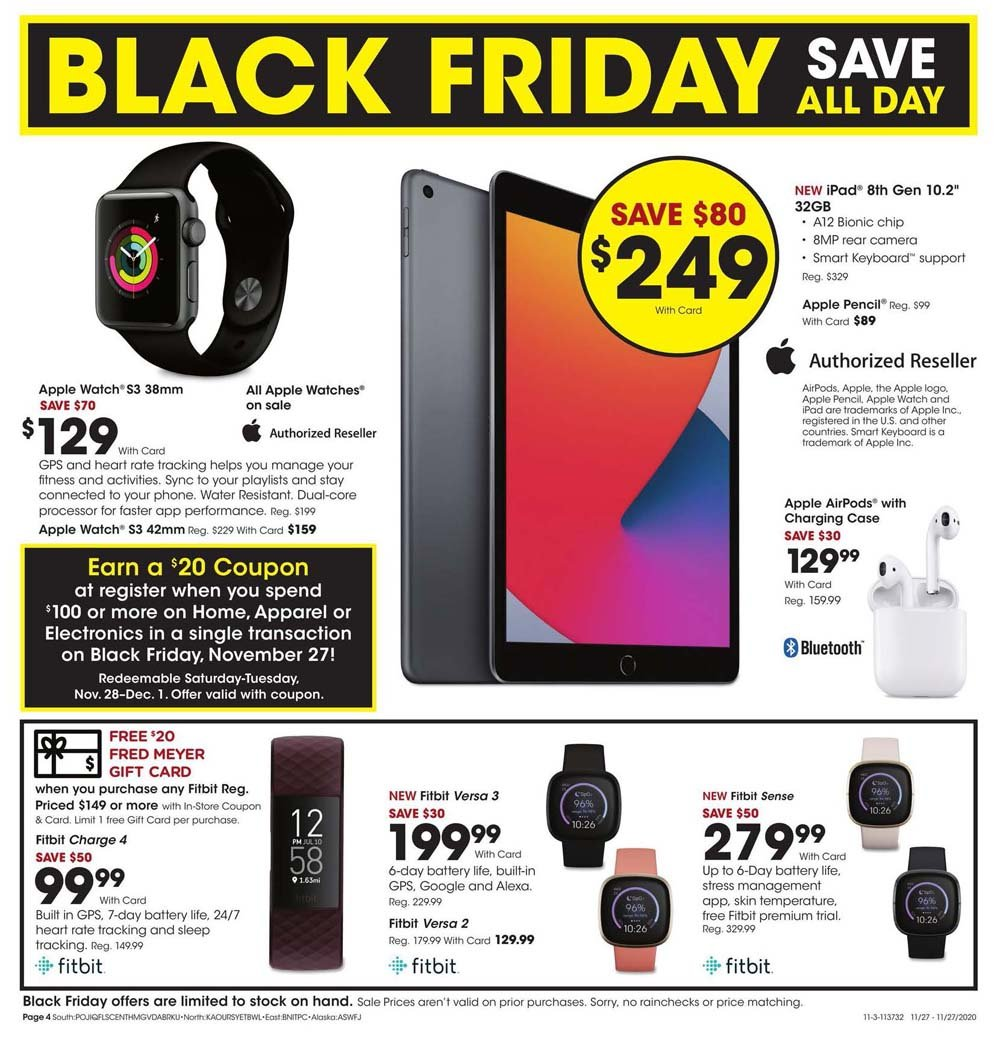 Fred Meyer Black Friday 2020 Page 4