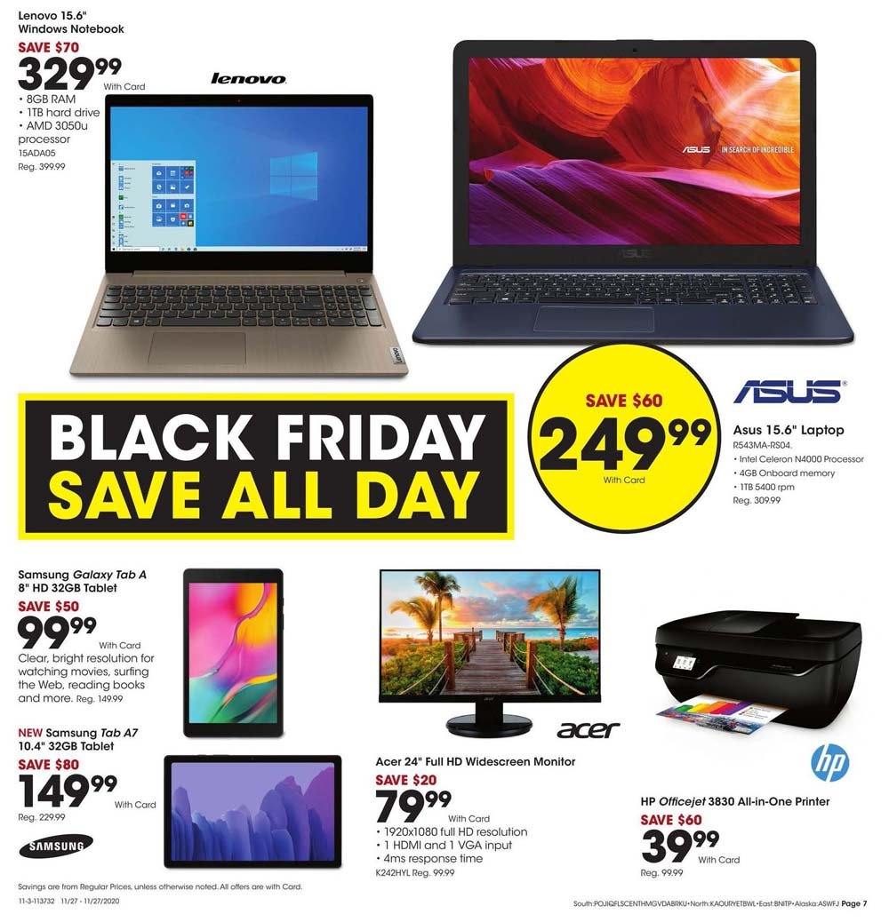 Fred Meyer Black Friday 2020 Page 7