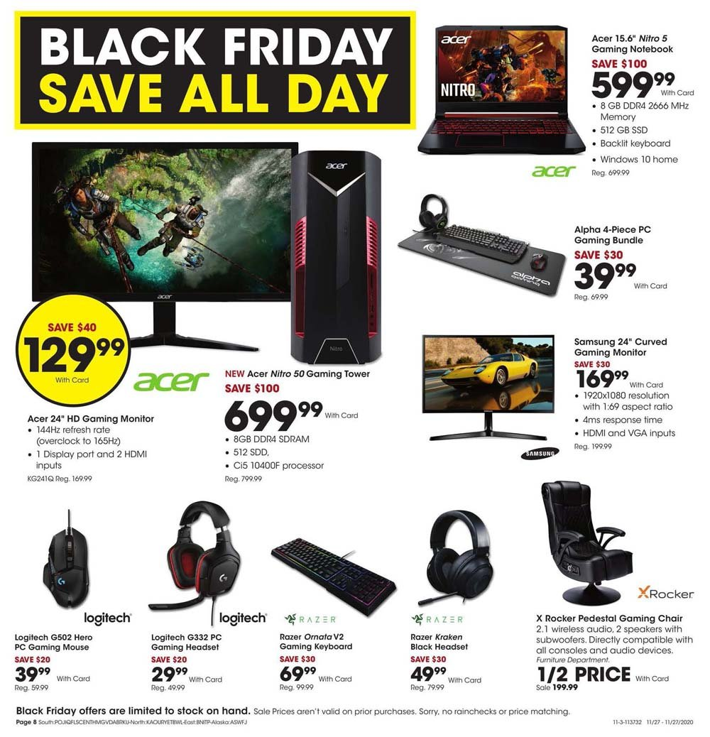 Fred Meyer Black Friday 2020 Page 8