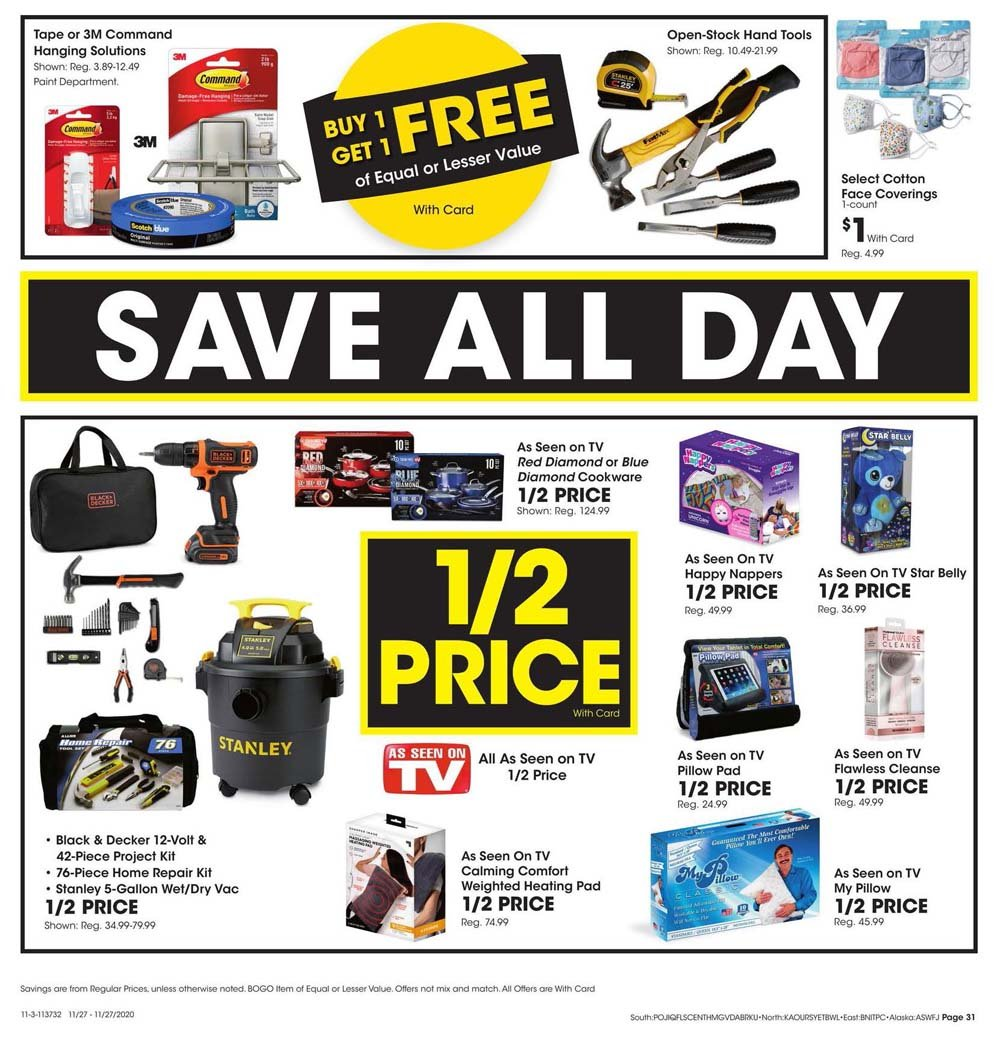 Fred Meyer Black Friday 2020 Page 31