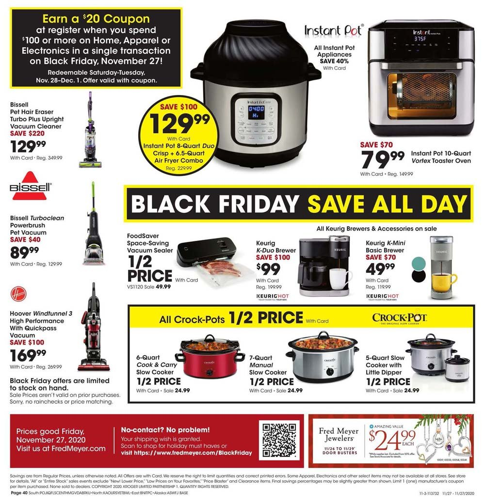 Fred Meyer Black Friday 2020 Page 40