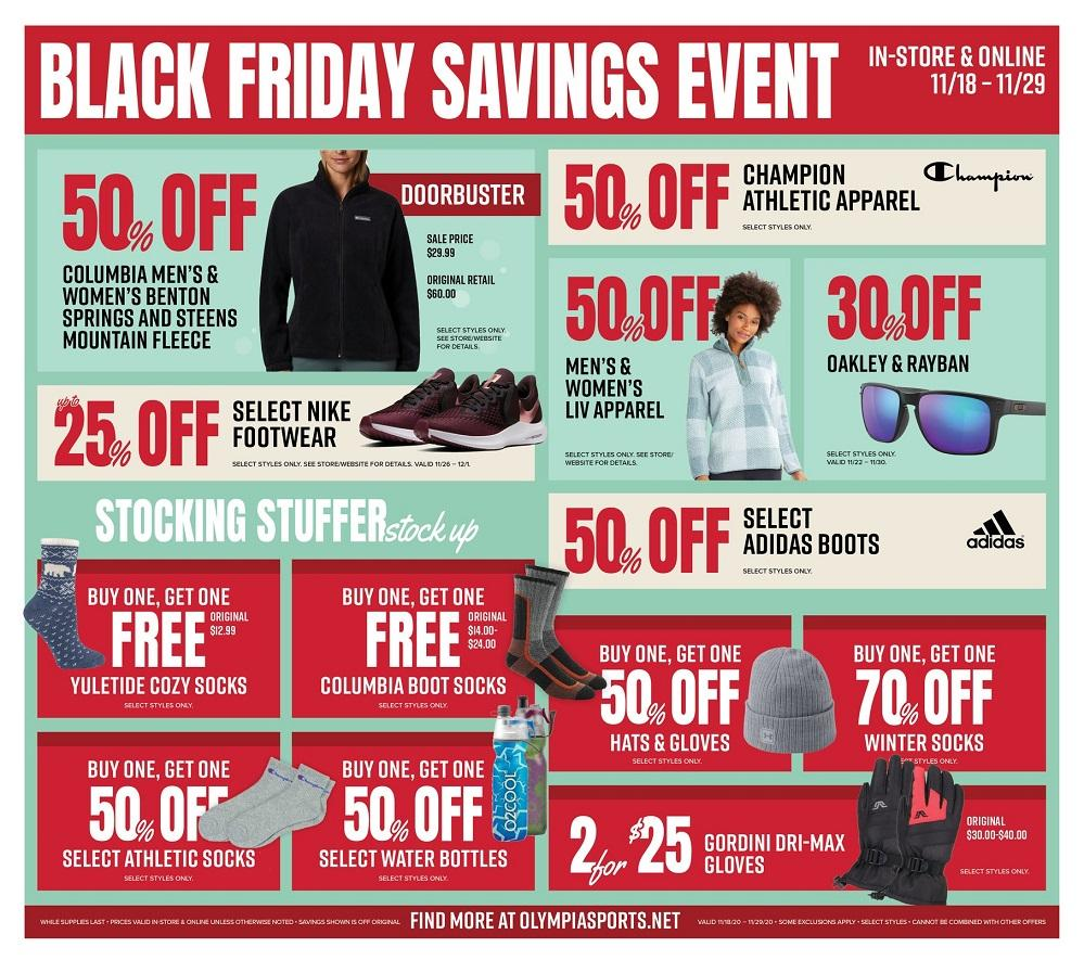 Olympia Sports Black Friday 2020 Page 3