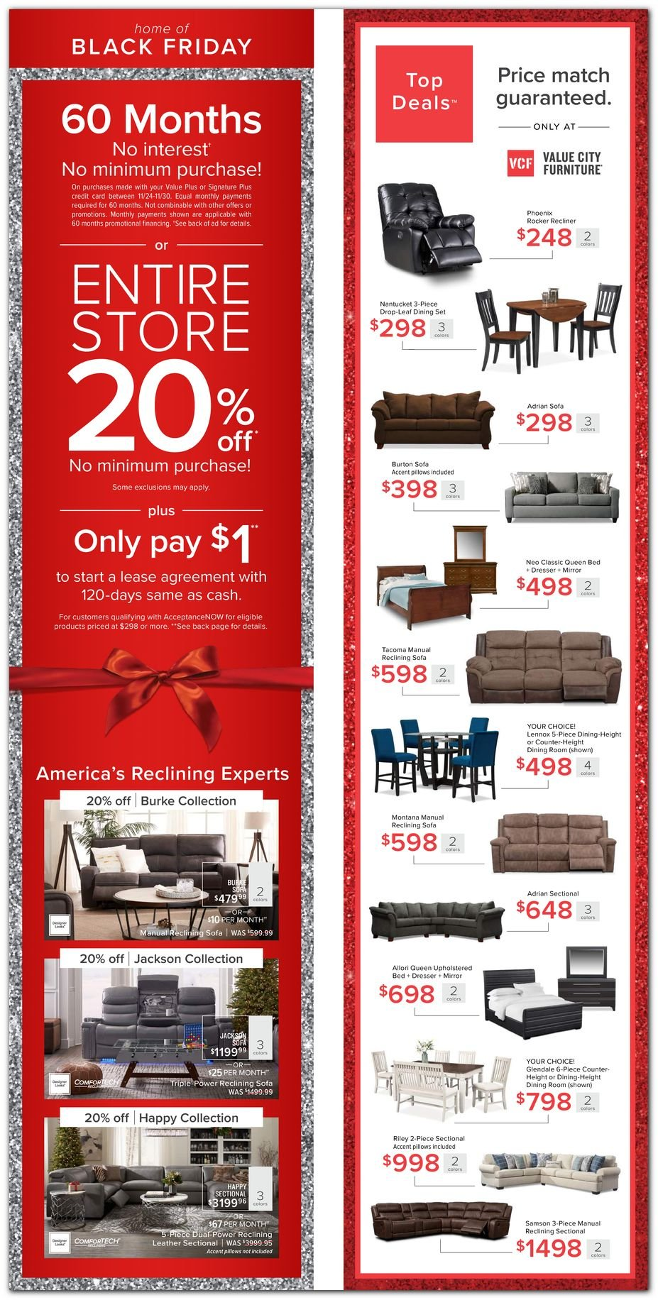 Value City Furniture Black Friday 2020 Page 6