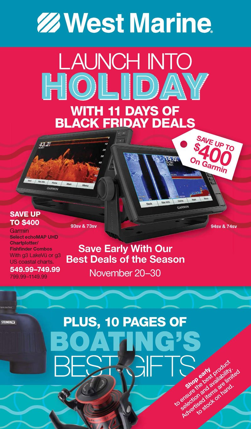 West Marine Black Friday 2020 Page 1