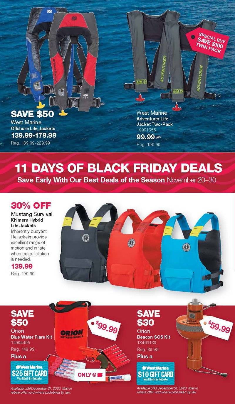 West Marine Black Friday 2020 Page 4