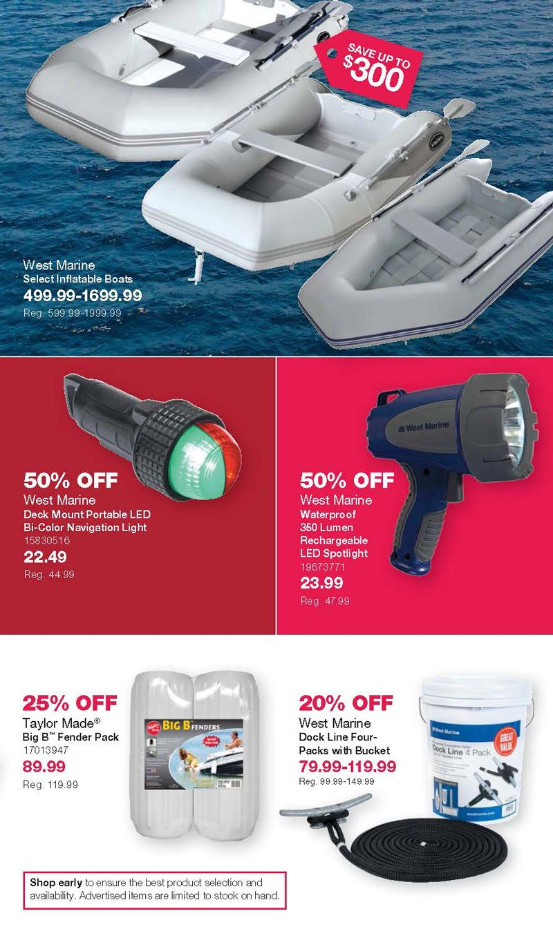 West Marine Black Friday 2020 Page 5