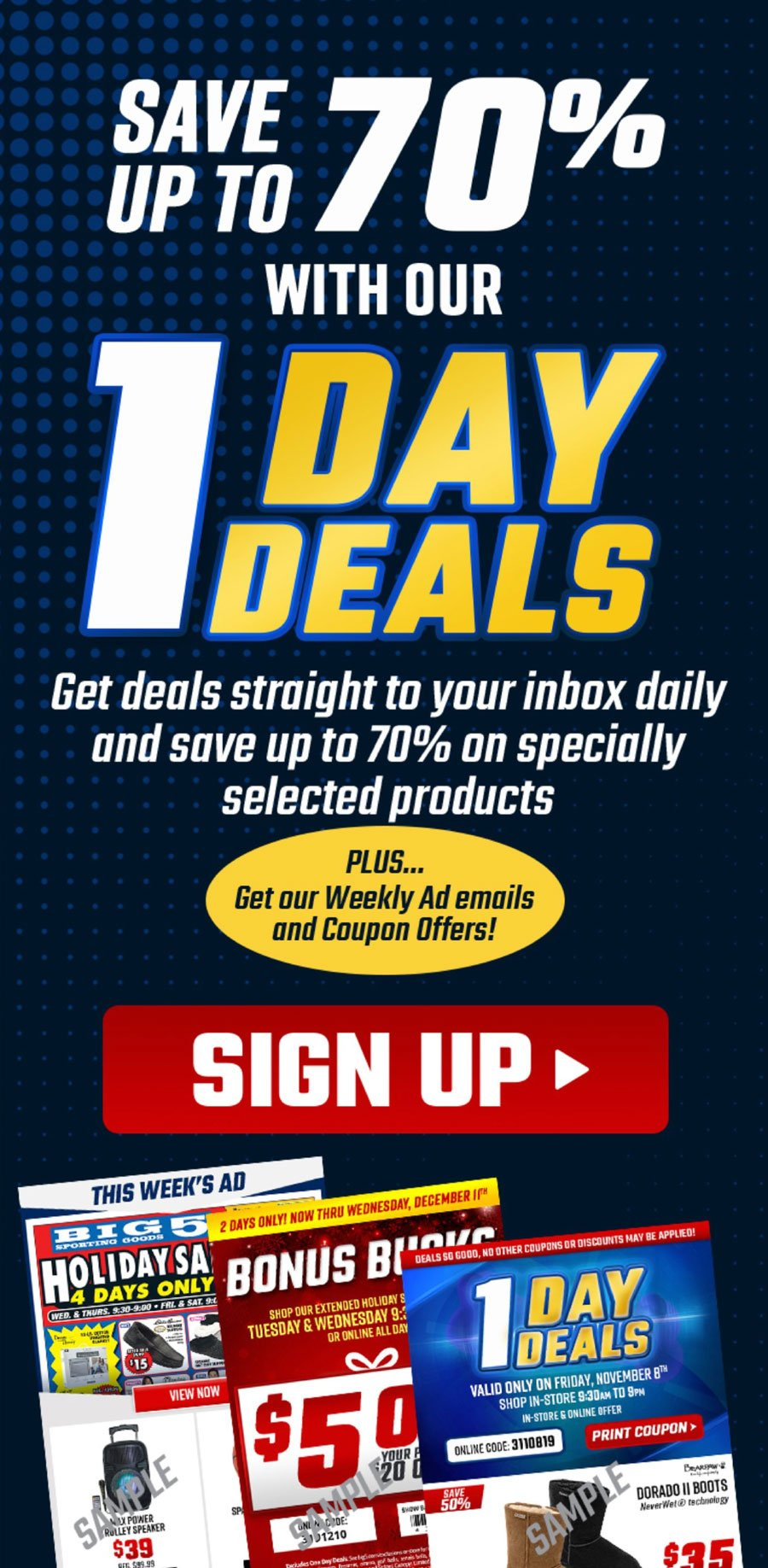 Big 5 Sporting Goods Black Friday 2020 Page 2