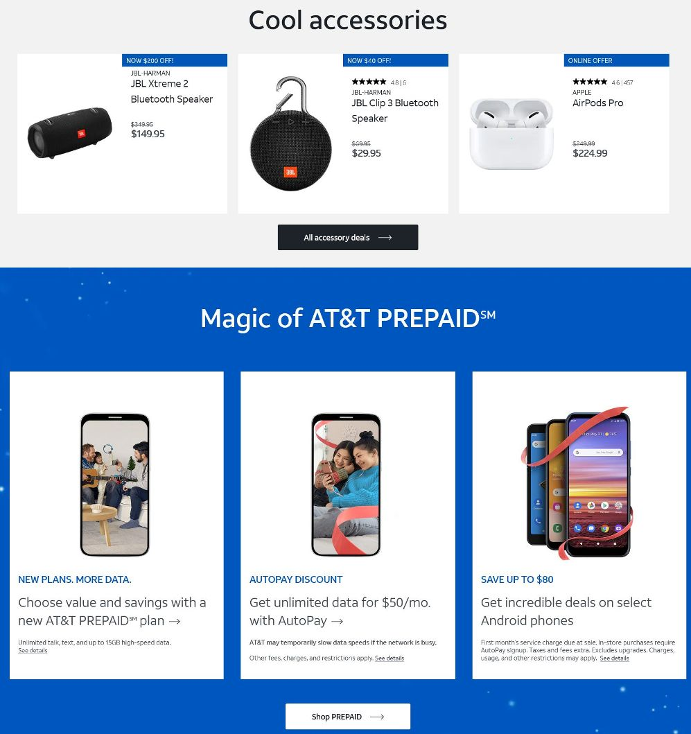 AT&T Wireless Black Friday 2020 Page 3