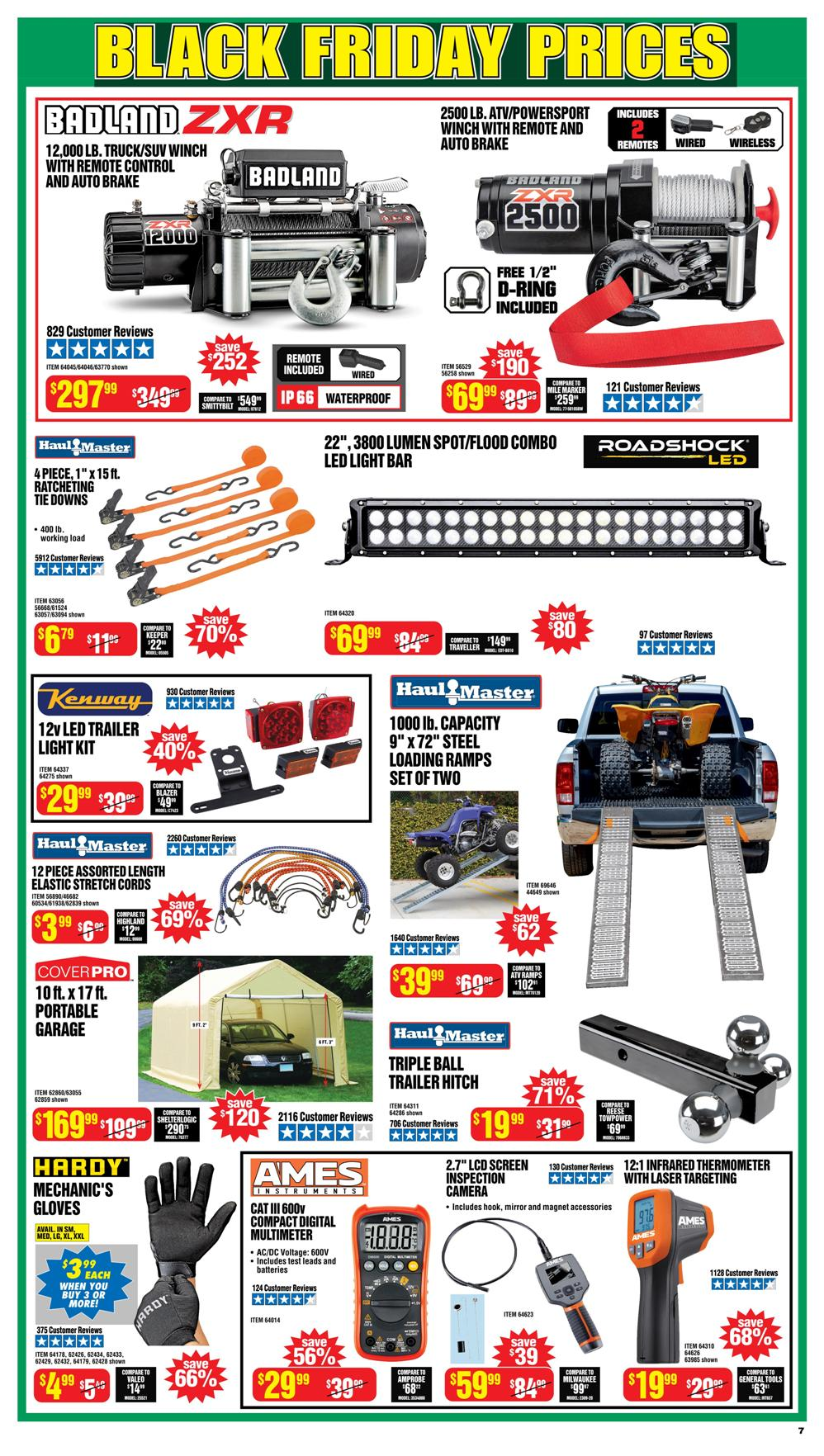 Harbor Freight Black Friday 2020 Page 7
