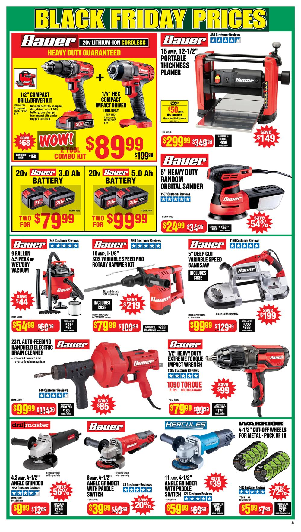Harbor Freight Black Friday 2020 Page 8