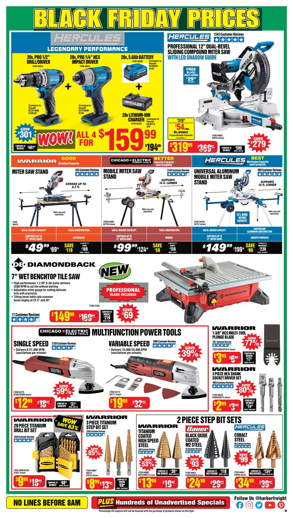 Harbor Freight Black Friday 2020 Page 9