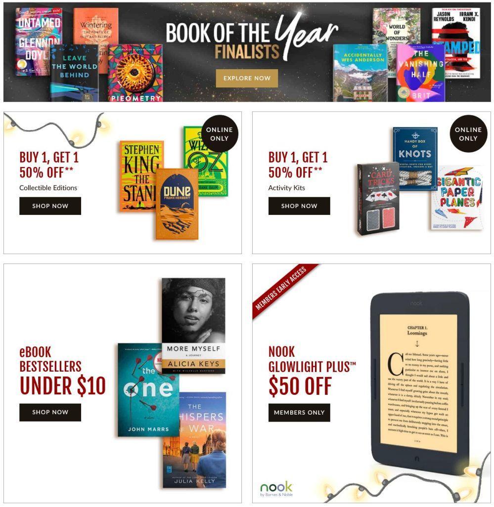 Barnes & Noble Black Friday 2020 Page 2