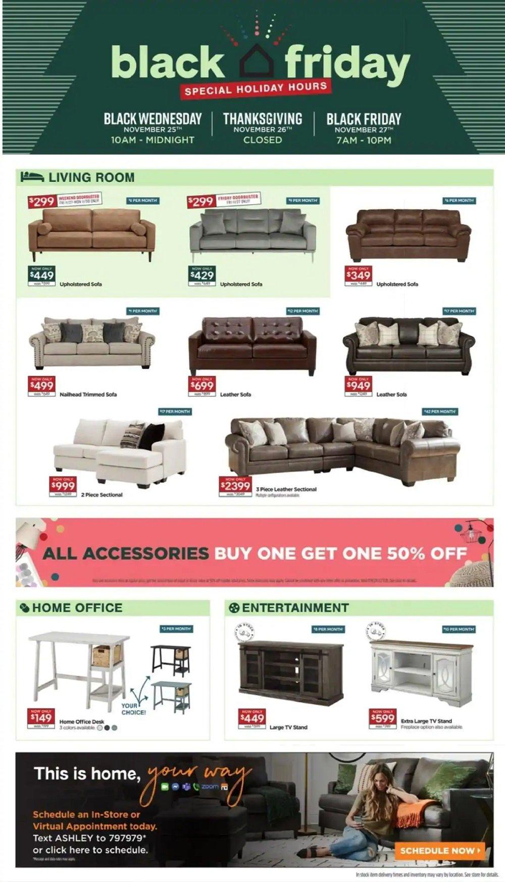 Ashley HomeStore Black Friday 2020 Page 4