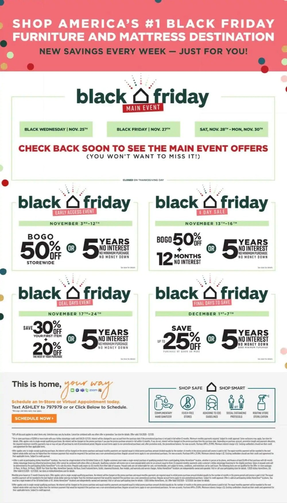 Ashley HomeStore Black Friday 2020 Page 6