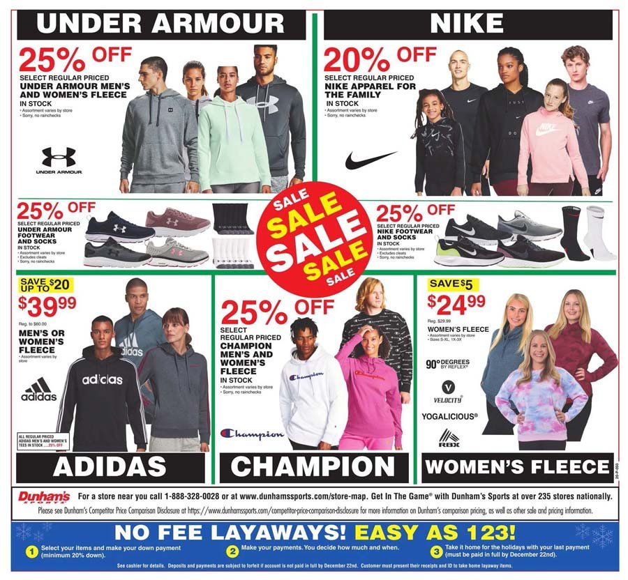 Dunham's Sports Cyber Monday 2020 Page 8