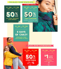 Old Navy Black Friday 2019